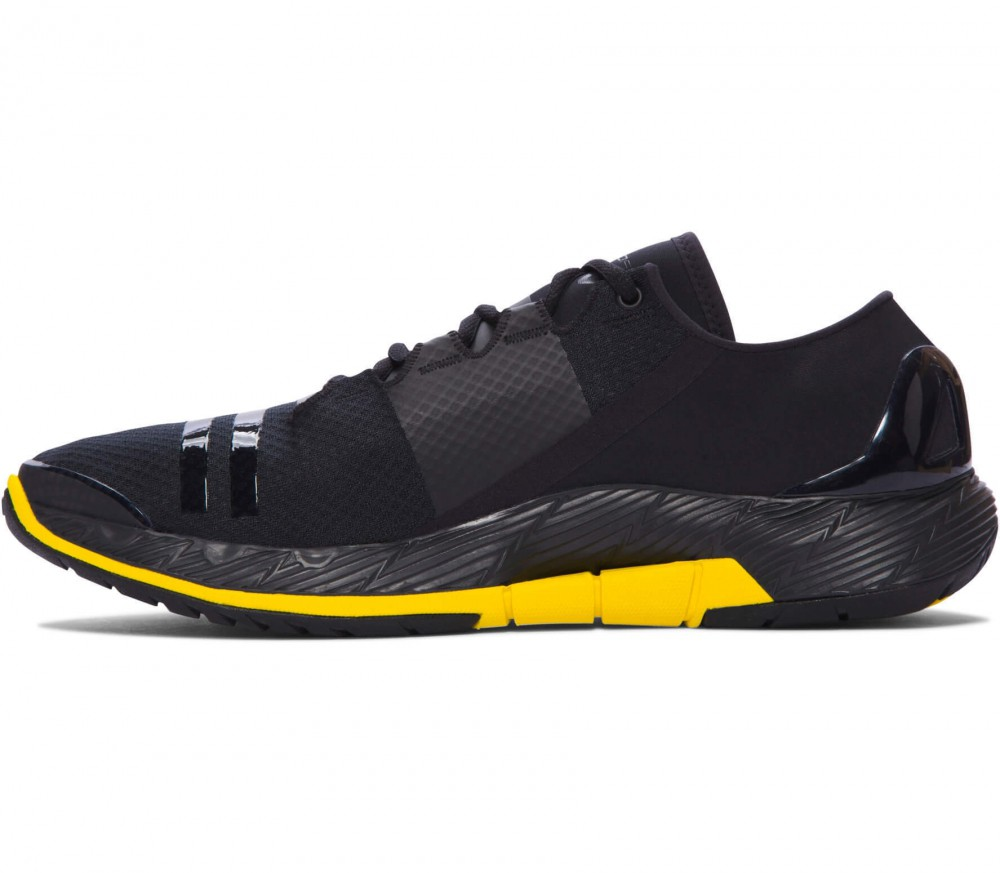 Under Armour - Speedform Amp SE men's training shoes (black/yellow)