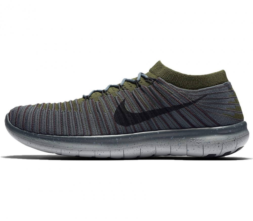 Nike - Free Run Motion Flyknit men's running shoes (blue)