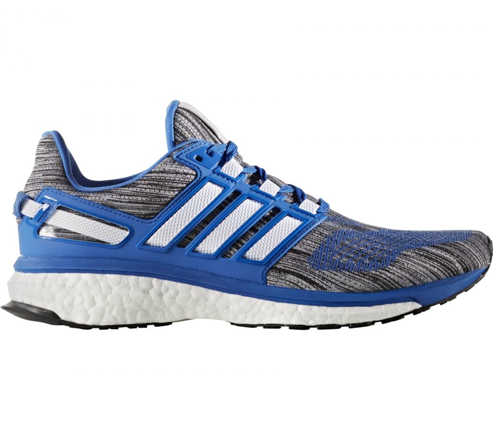 Mens Energy Boost 3 Training Running Shoes, Blue adidas