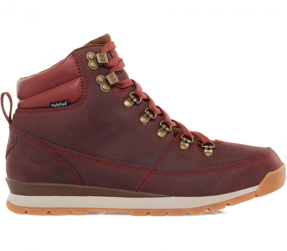 The North Face - Back To Berkeley Redux Leather men's winter shoes (red/brown)
