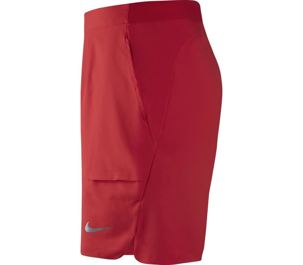 Nike - Roger Federer Court Flex Ace 9Inch men\'s tennis shorts (red)