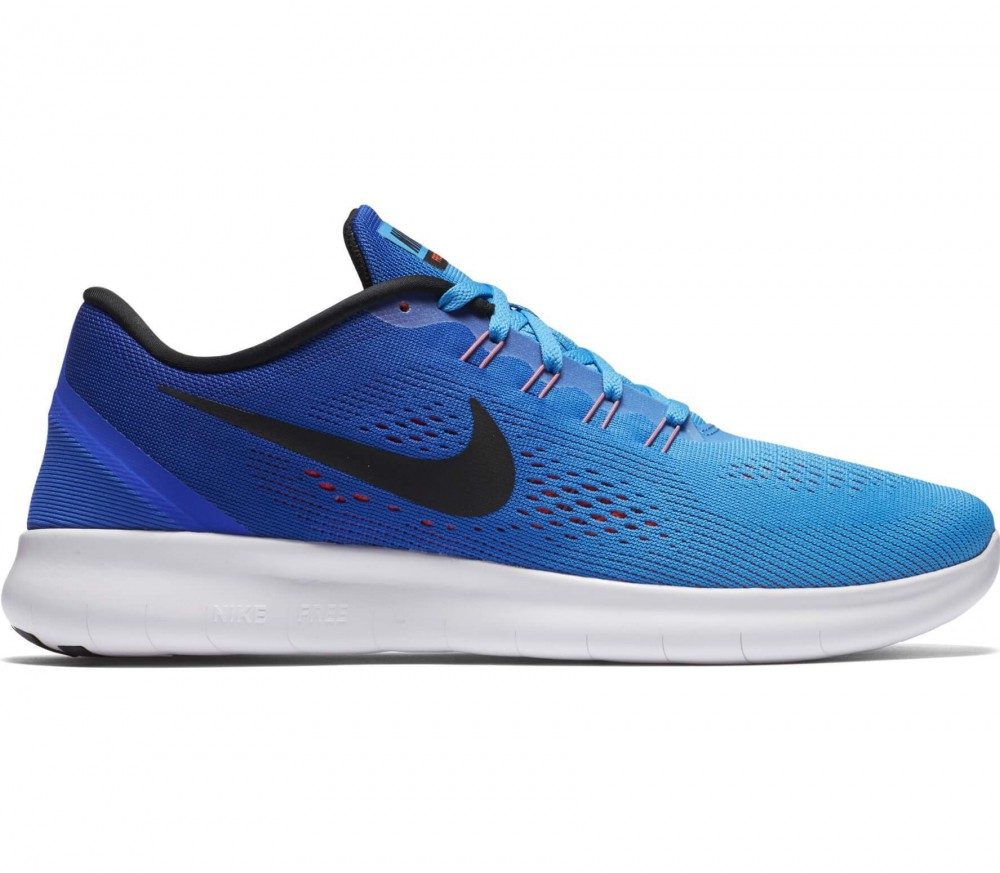 Nike - Free RN men's running shoes (dark blue/light blue)