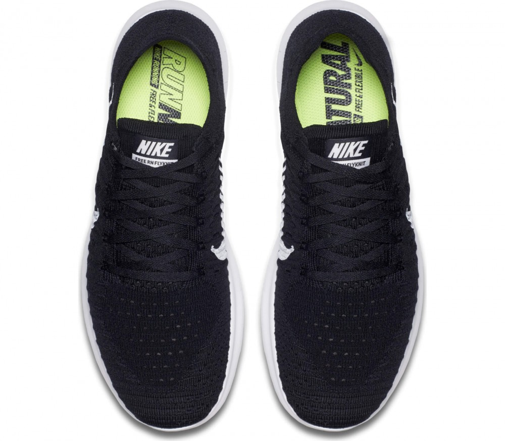 Nike - Free Fly Knit men's running shoes (black/white)