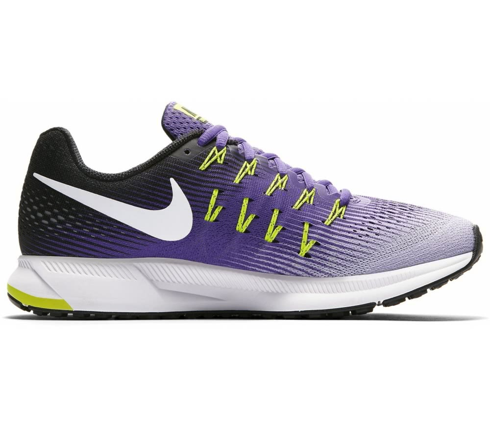nike air zoom pegasus 33 women 39 s running shoes purple. Black Bedroom Furniture Sets. Home Design Ideas