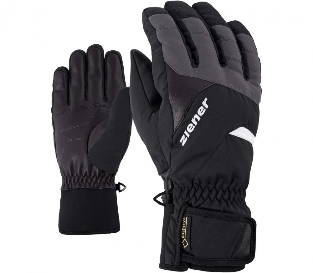 Ziener - Guffert GTX® men's ski gloves (black/grey)