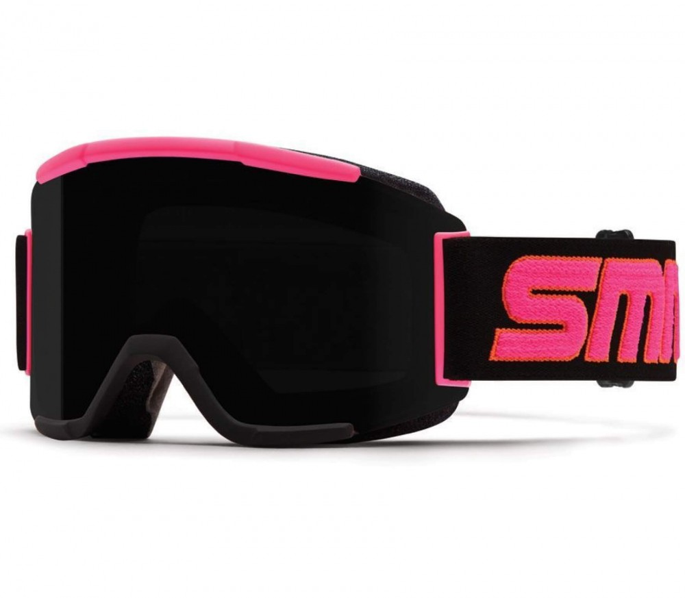 goggles cost  Smith - Squad ski goggles (black/pink) - buy it at the Keller ...