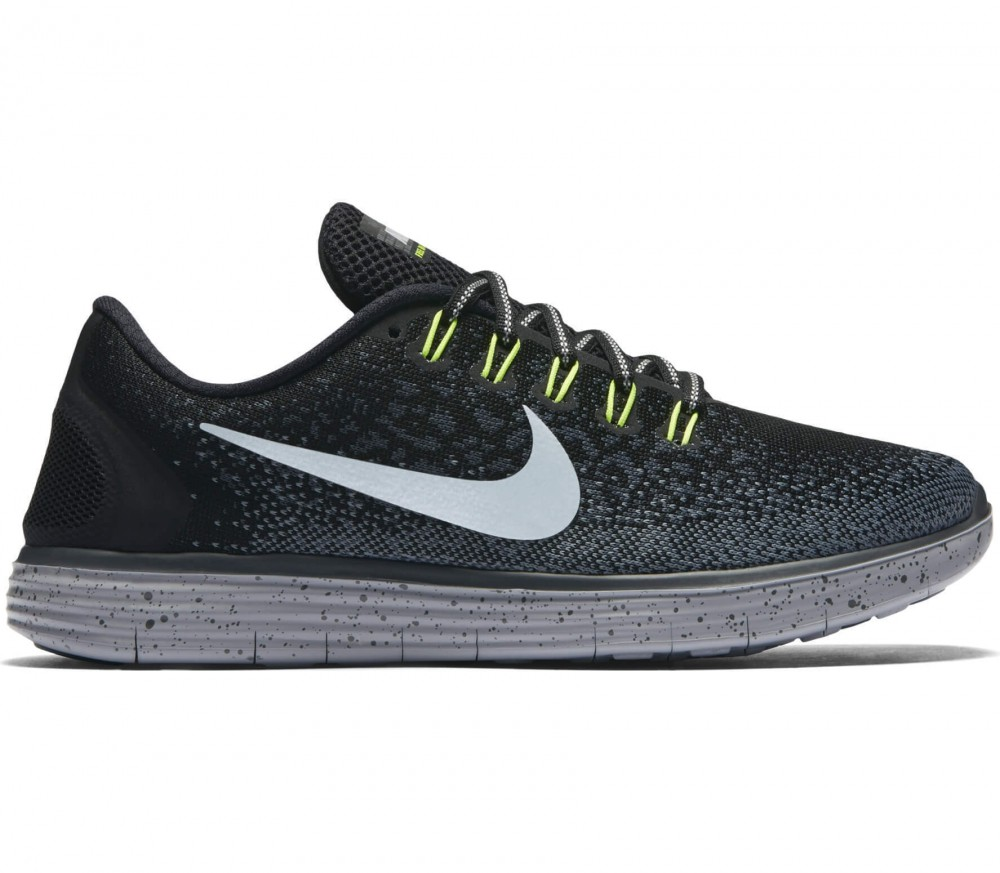 nike free run distance womens black