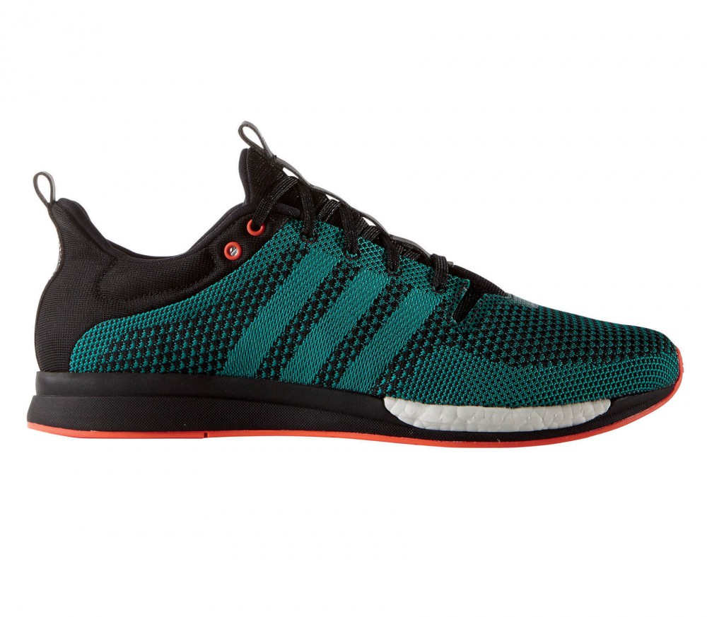 timeless design 5215e 04636 adidas Men u0027s Adizero Feather Boost M Black,Off White and Brown Mesh Running  Shoes