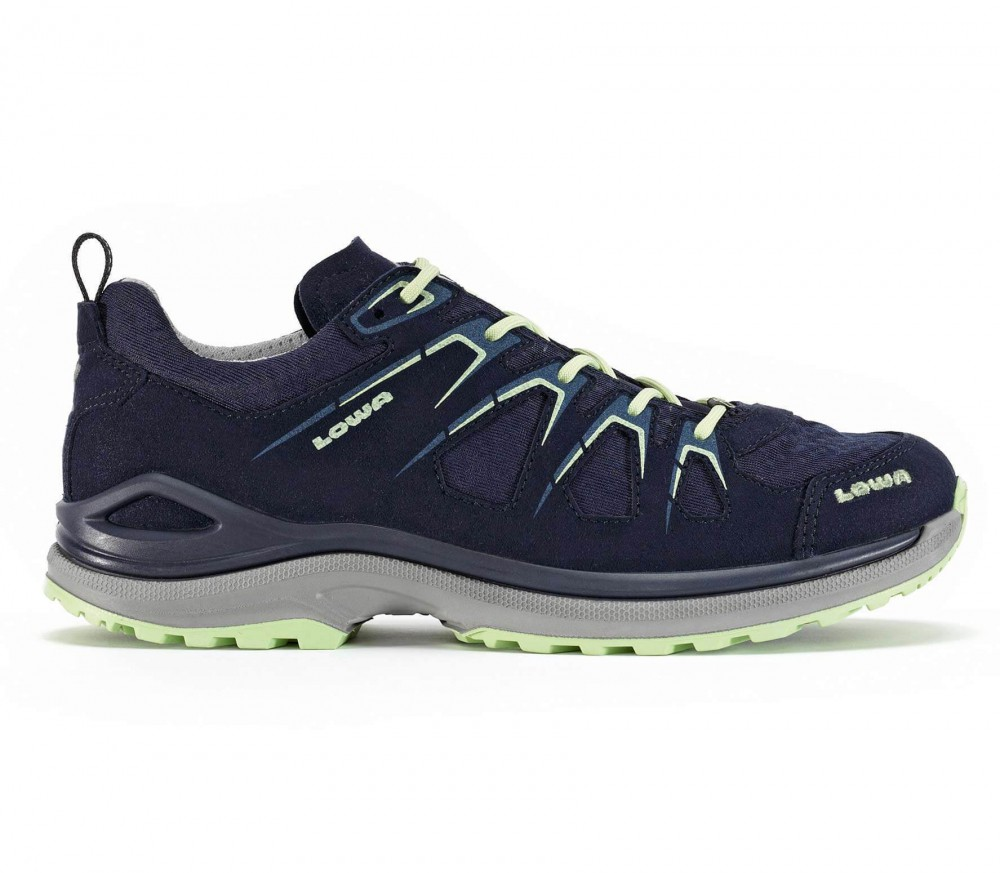 Lowa - Innox Evo GTX LO women's hiking shoes (dark blue/light green)