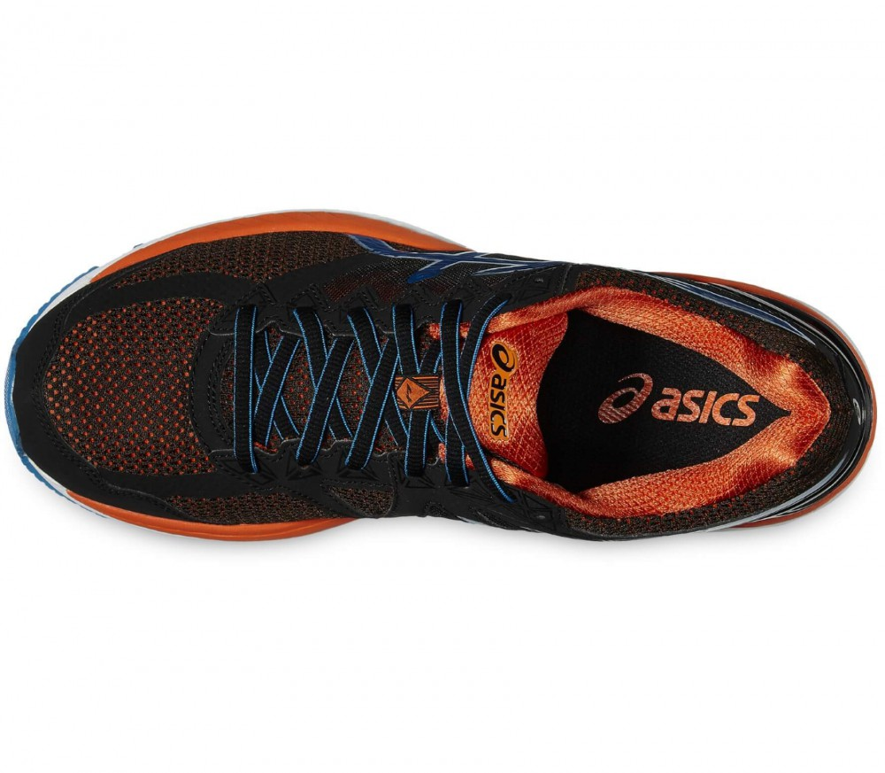 ASICS - GT-2000 4 men's running shoes (black/light blue)