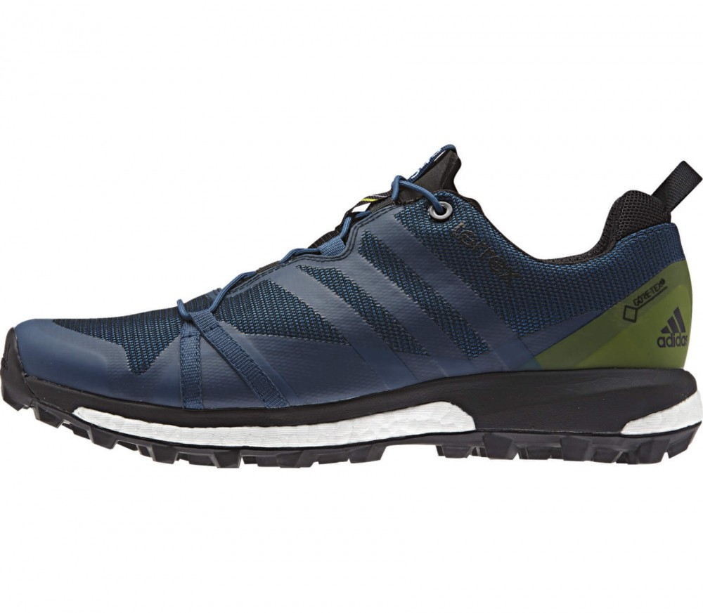 Adidas - Terrex Agravic GTX men's hiking shoes (dark blue/svart)