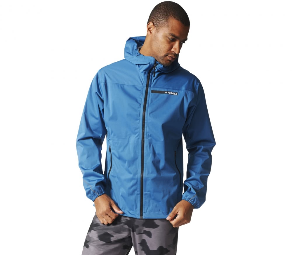Adidas - Multi 3-Lagen GTX men's hard shell jacket (blue/black)