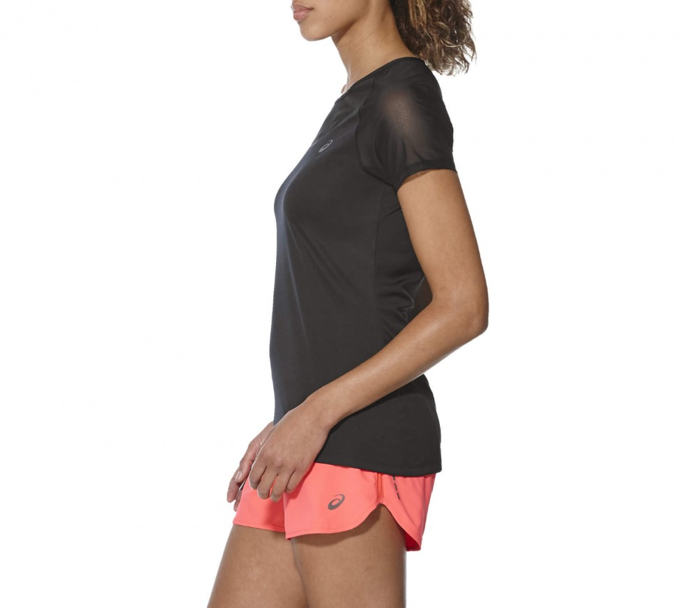 ASICS - Elite Shortsleeve women's running t-shirt (black)