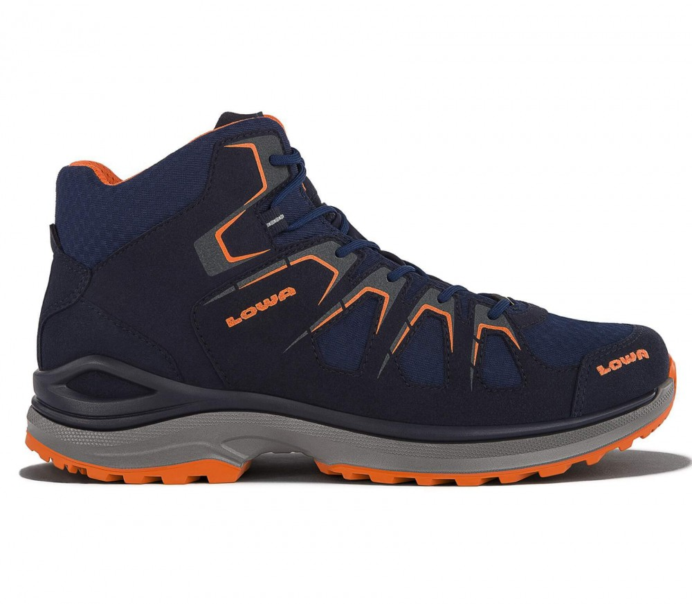 Lowa - Innox Evo GTX QC men's multi-functional shoes (dark blue/orange)