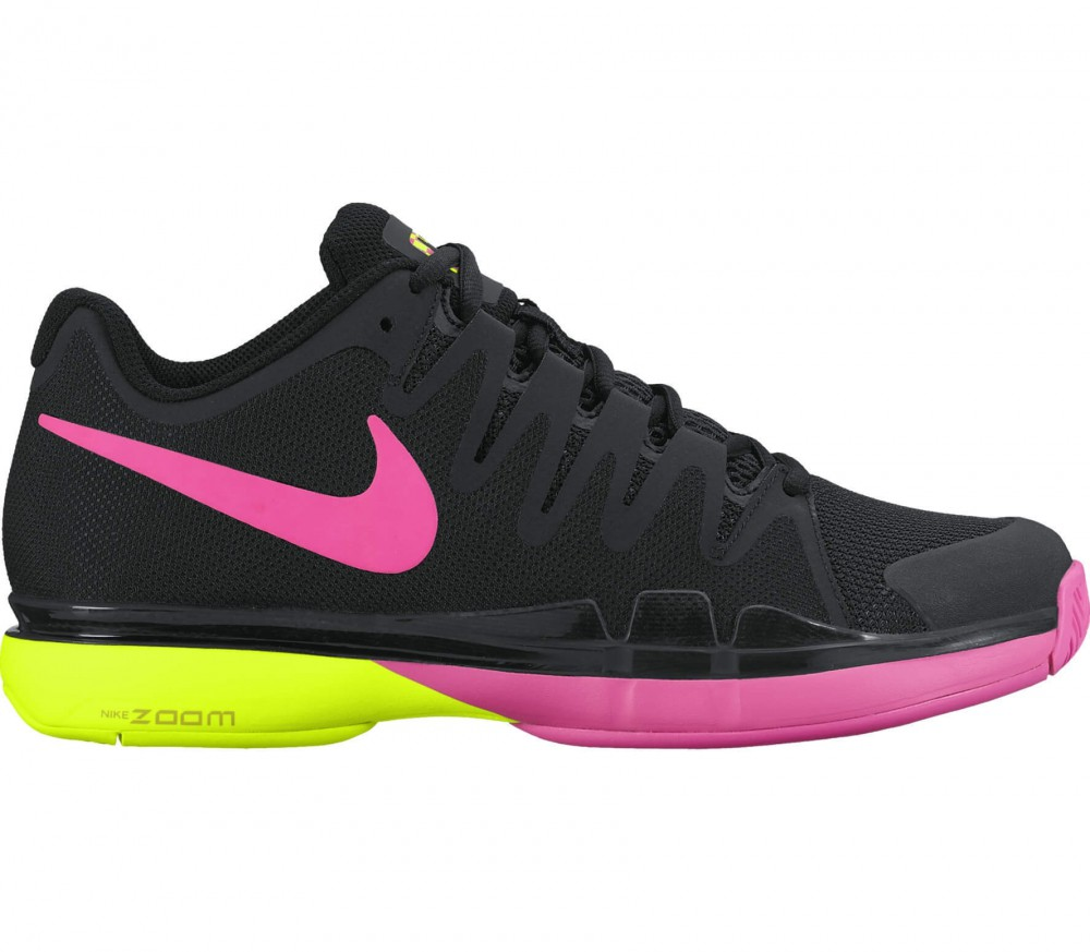 nike zoom vapor 9 5 tour women 39 s tennis shoes black. Black Bedroom Furniture Sets. Home Design Ideas