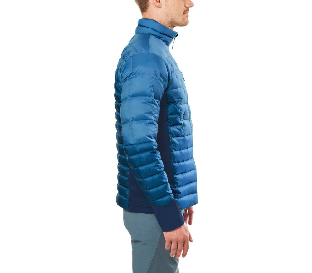 Black yak t shirt - Black Yak Light Down Insulation Men S Down Jacket Blue