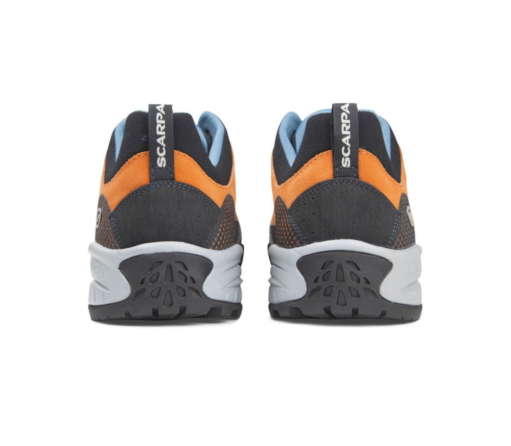 Scarpa - Zen Pro men's approach shoes (orange/blue)