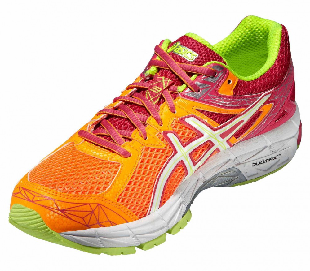 ASICS - GT-1000 3 women's running shoes (pink/orange)