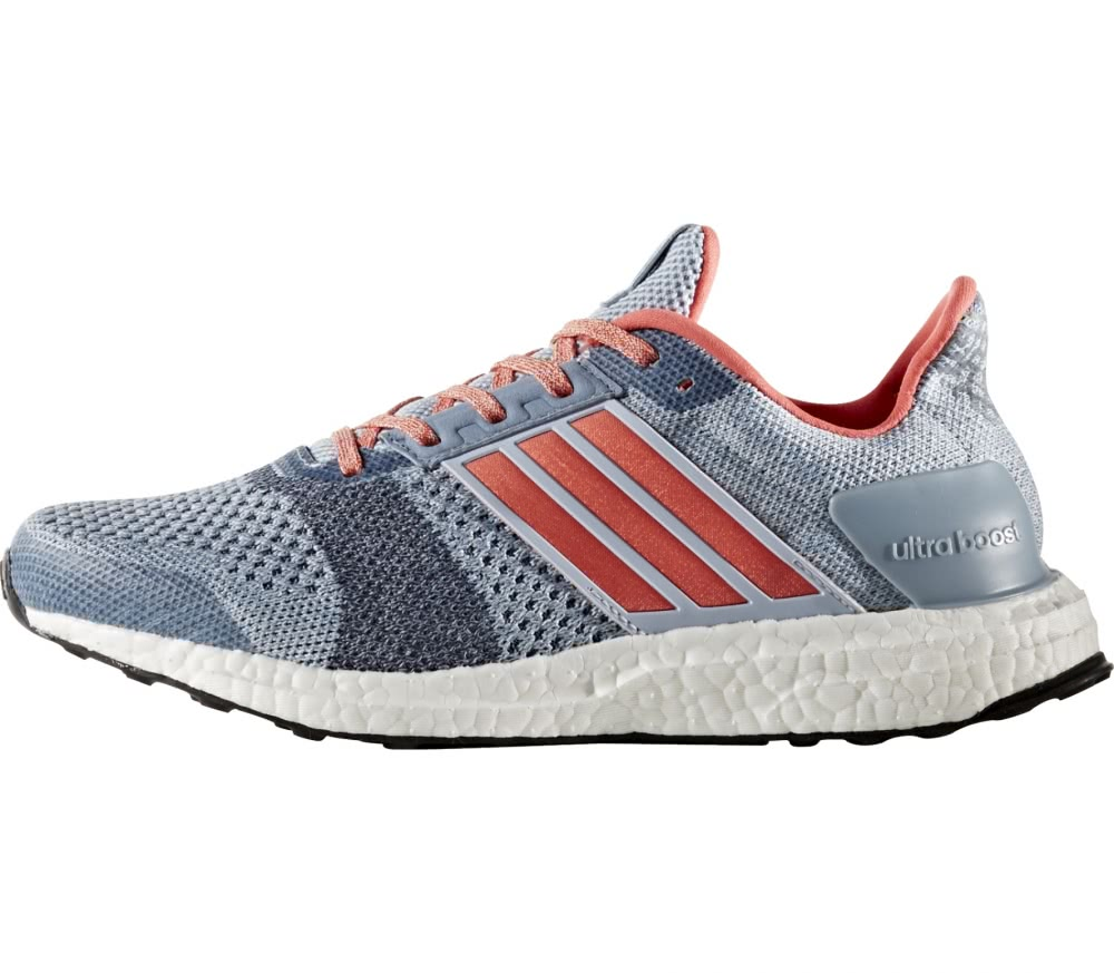 Adidas  Ultra Boost ST womens running shoes light blue light pink
