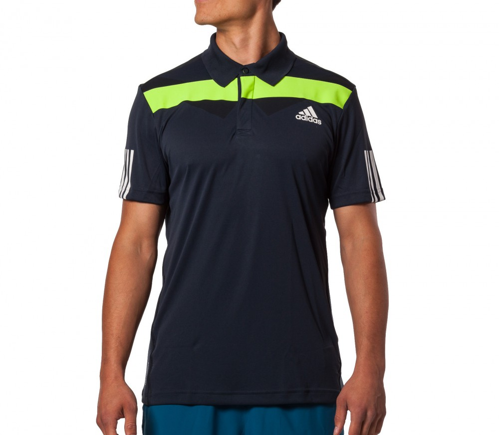 Adidas Barricade Polo Men 39 S Top Black Wei Buy It At