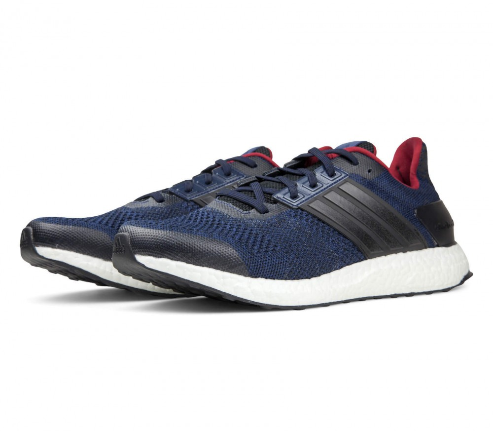 Adidas - Ultra Boost ST men's running shoes (black/white)