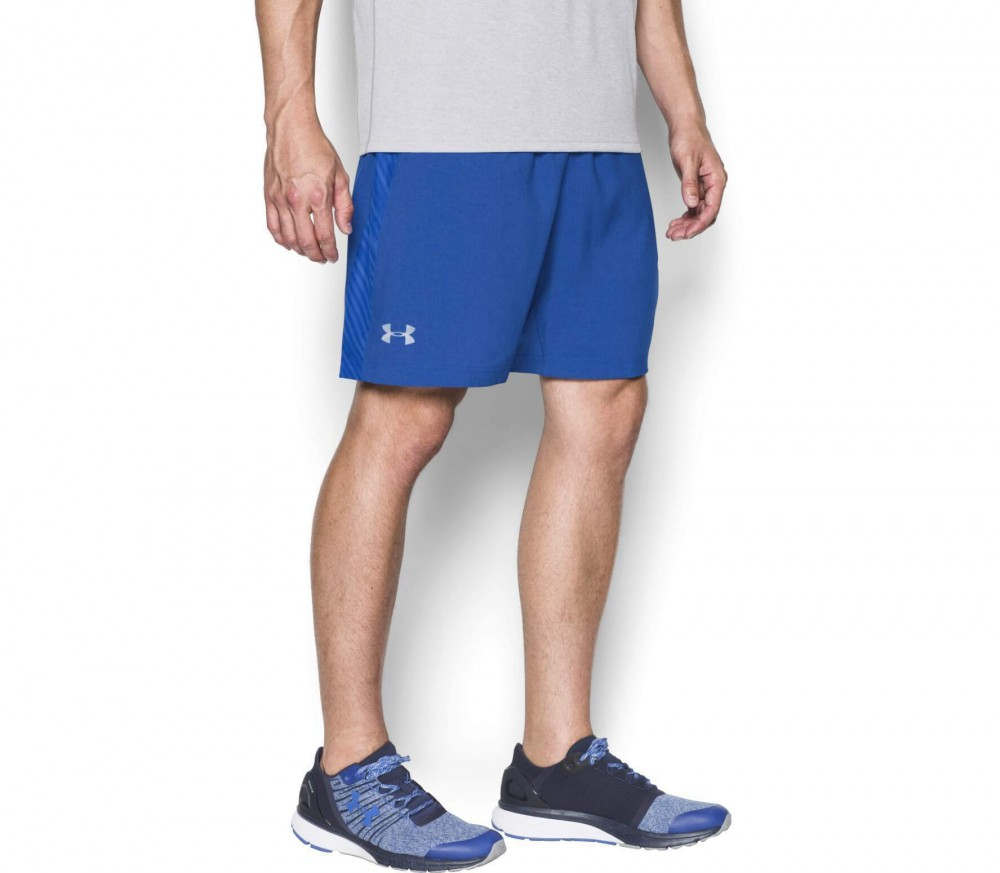 Under Armour - Launch 7'' Woven men's running shorts (blue)