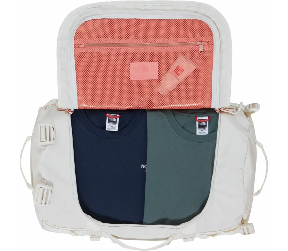 The North Face - Base Camp - S Unisex duffel bag (white)