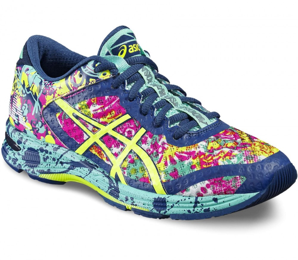 Asics - Gel-Noosa Tri 11 women's running shoes (blue-yellow)