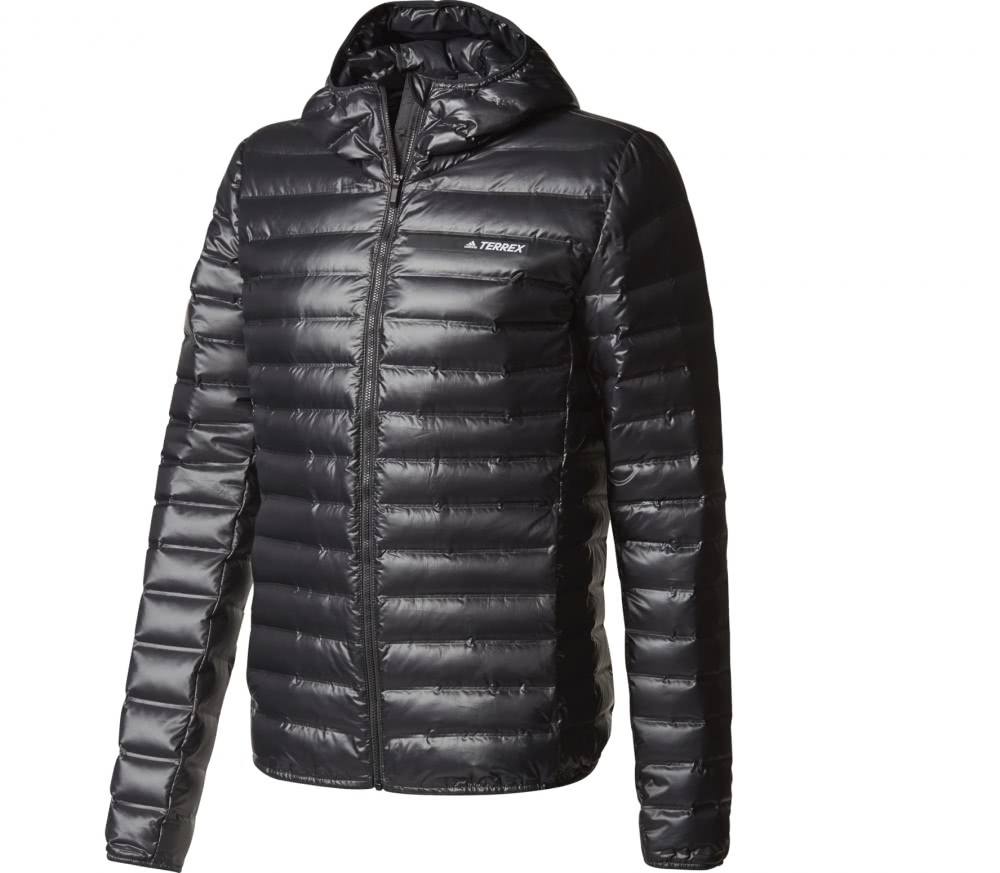adidas terrex lite down men 39 s down jacket black buy. Black Bedroom Furniture Sets. Home Design Ideas