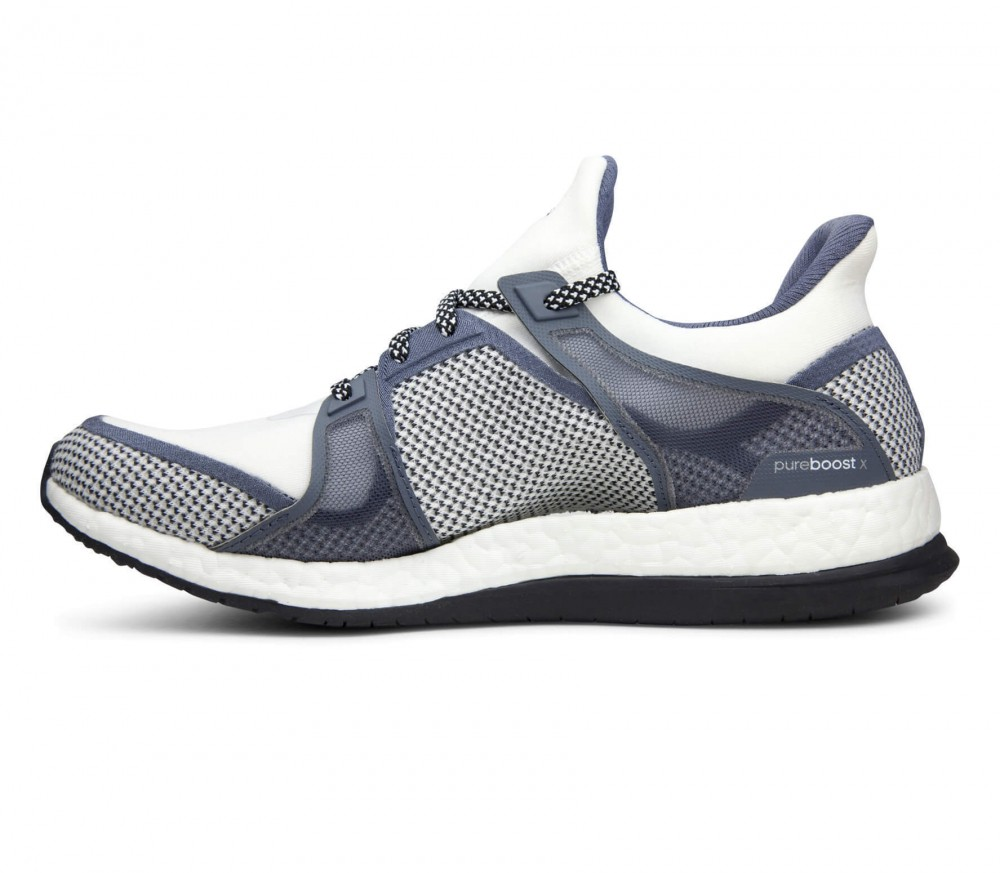 Adidas - Pureboost X women's training shoes (grey/white)