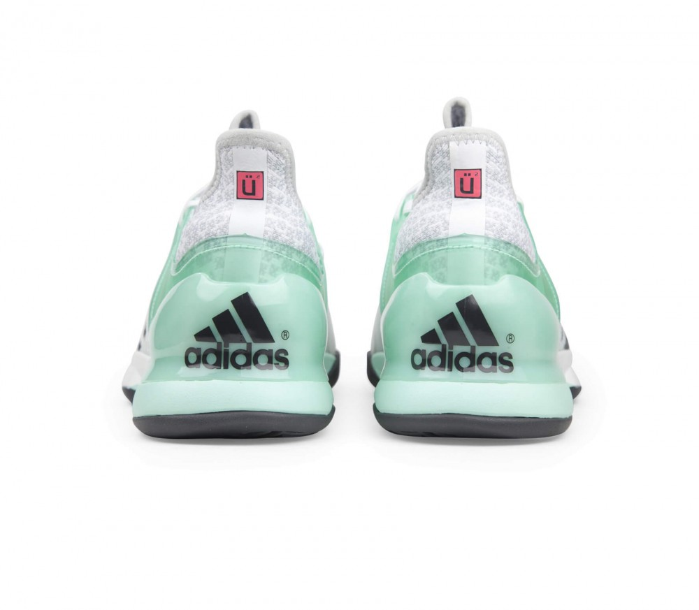 Adidas - Adizero Ubersonic 2 men's tennis shoes (white/green)