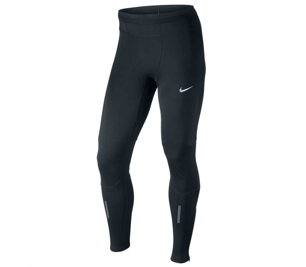 Nike - Dri Fit Shield Tight men's running shorts (black)