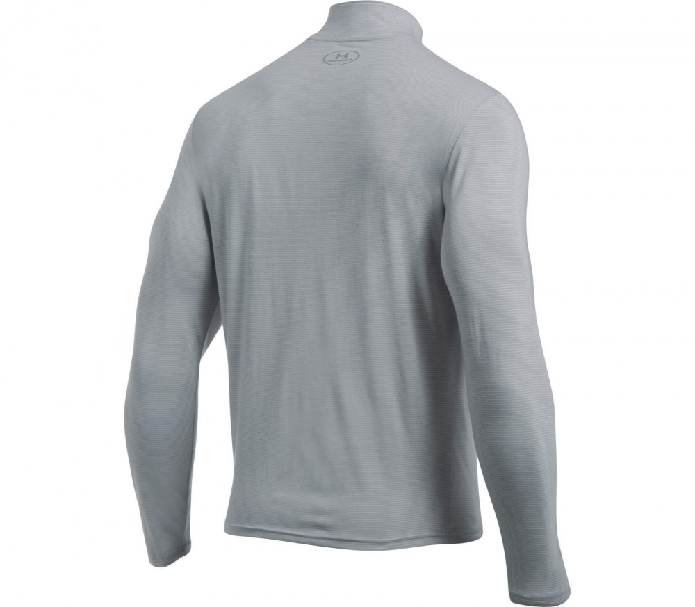 Under Armour - Streaker 1/4 Zip long-sleeved men's running top (grey)