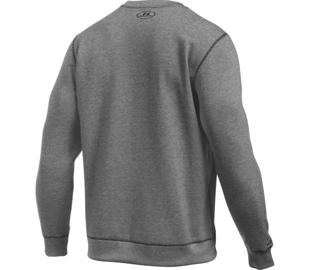 Under Armour - Storm Rival Cotton Crew men's training sweatshirt (black)