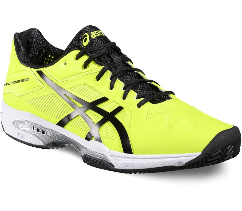 asics yellow shoes