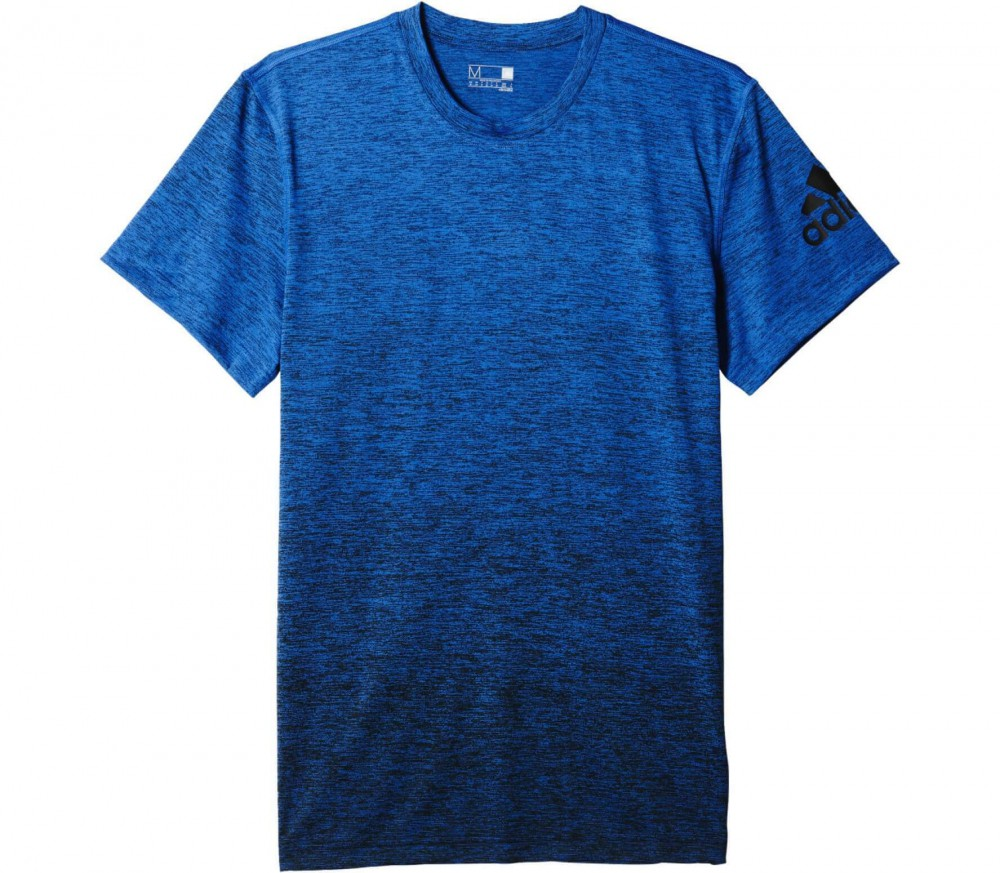 Adidas - Gradient men's training top (blue/black)