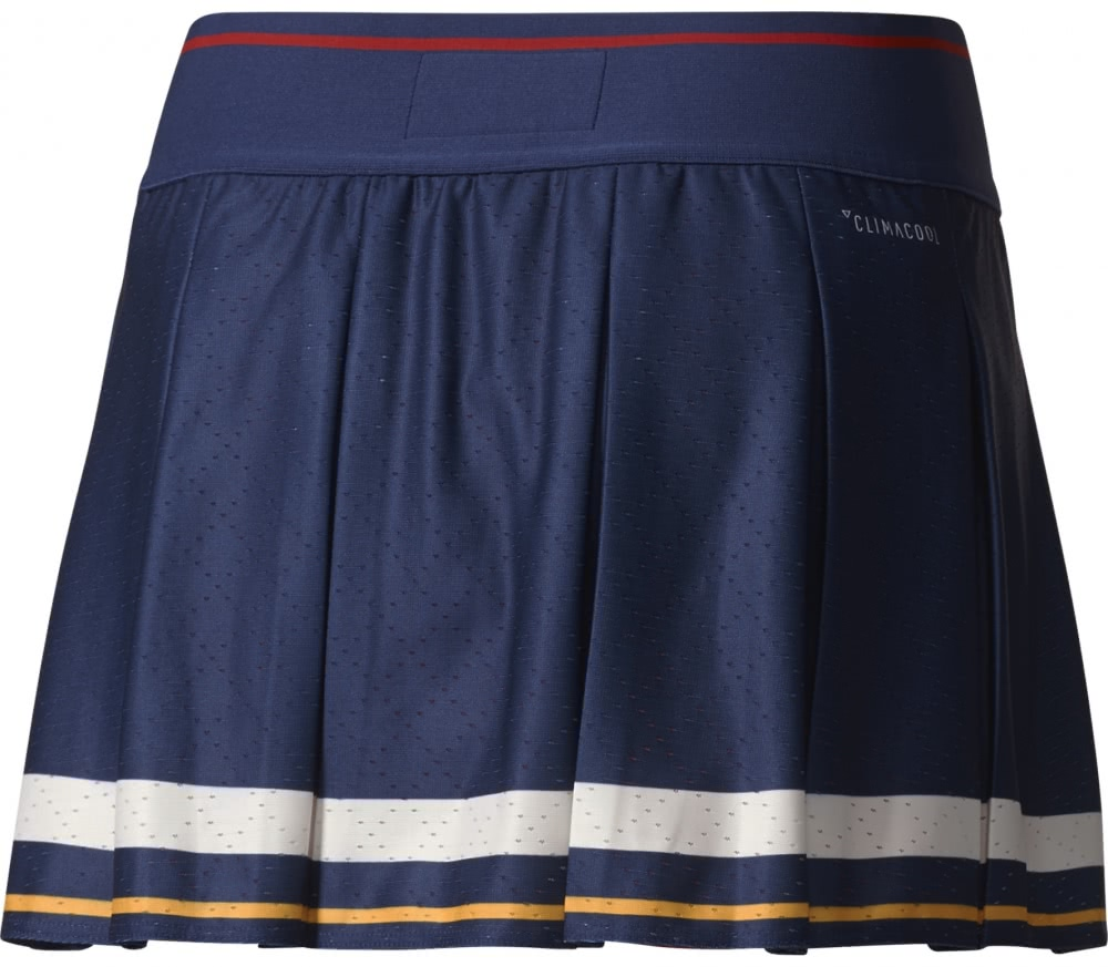 Adidas - New York women's tennis skirt (blue-red)