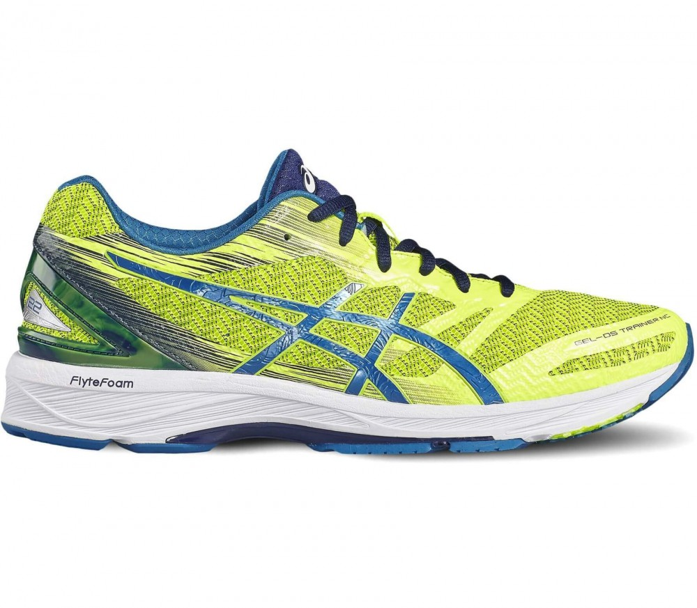 ASICS - Gel-DS Trainer 22 NC men's running shoes (yellow/blue)
