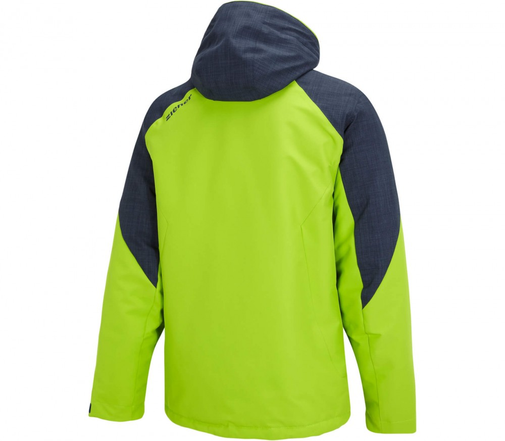 Ziener - Pavlo men's ski jacket (green)