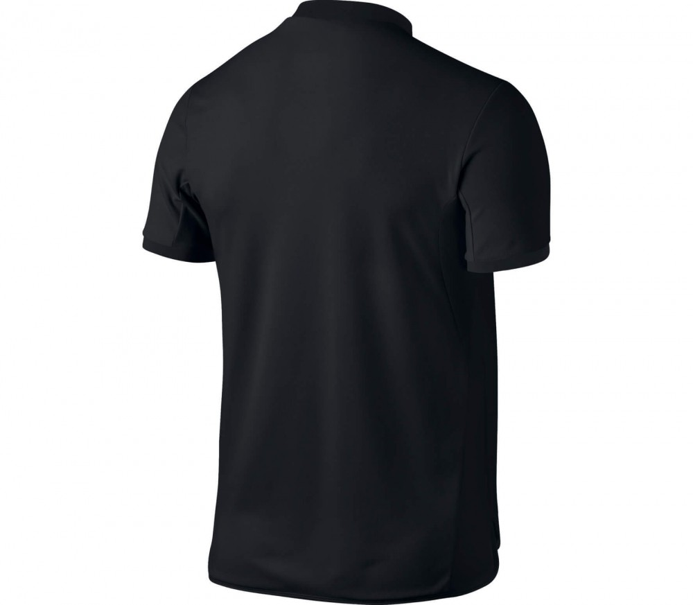 Nike - Court Advantage men's tennis polo (black/white)
