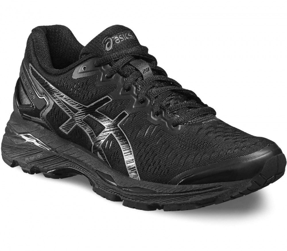 Asics - Gel-Kayano 23 women's running shoes (black/grey)