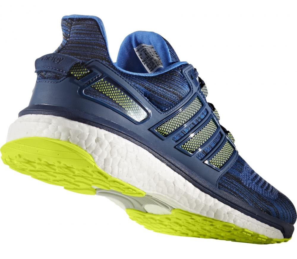 adidas energy boost 3 men 39 s running shoes dark blue yellow buy it at the keller sports. Black Bedroom Furniture Sets. Home Design Ideas