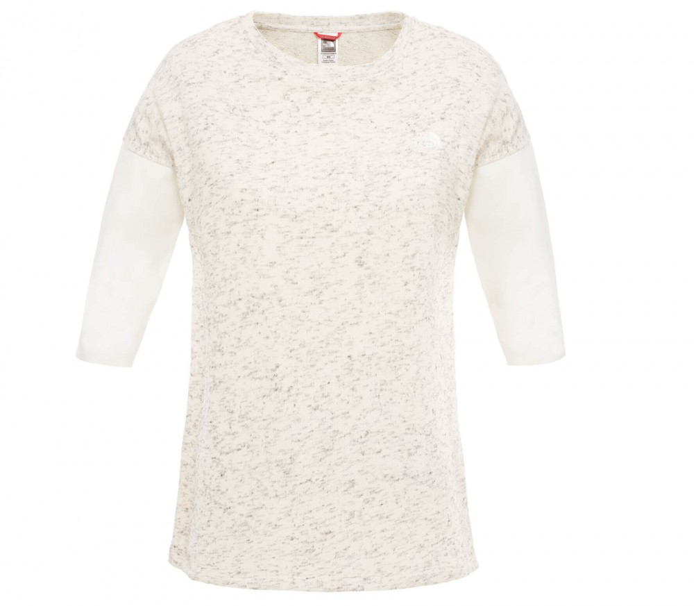 The North Face - Shortsleeve Raglan 3/4 women's top (white)