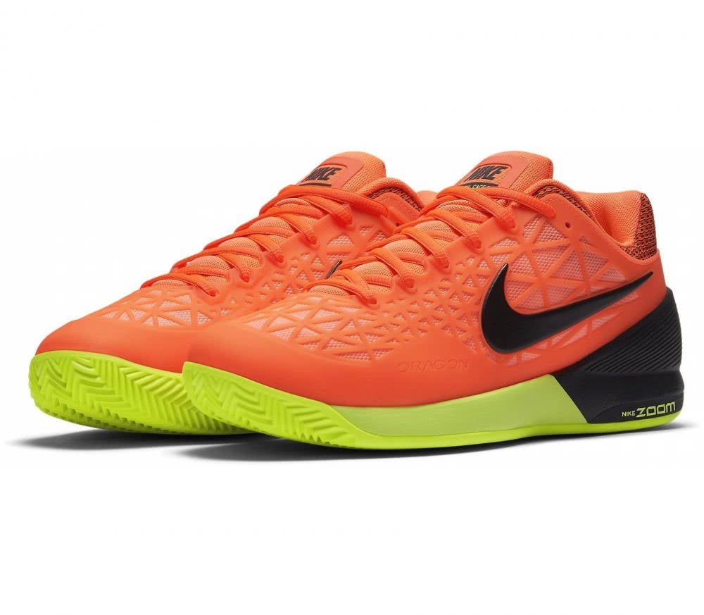 Nike - Zoom Cage 2 Clay men's tennis shoes (orange/black)
