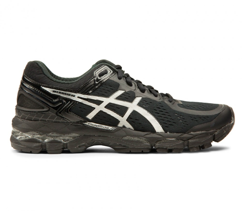 asics gel kayano 22 women 39 s running shoes black buy it at the keller sports online shop. Black Bedroom Furniture Sets. Home Design Ideas