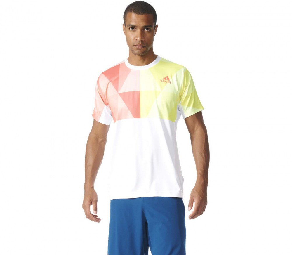 Adidas - Pro men's tennis top (white/red)