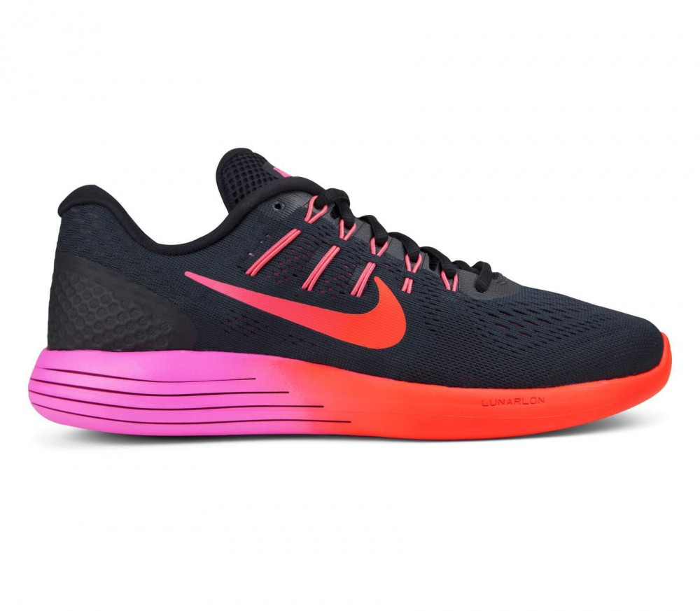 nike lunarglide 8 women's running shoes (black/pink) buy it at - nike lunarglide 8 orange rosa