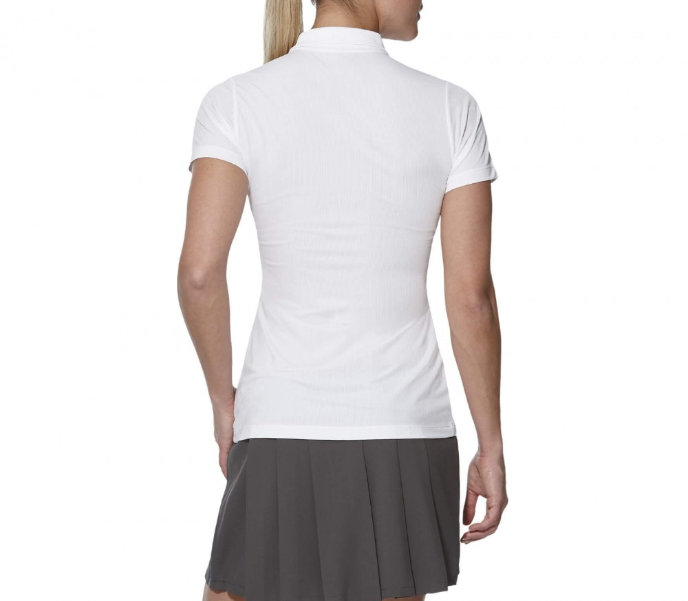 Asics - GPX Shortsleeve women's tennis polo shirt (white)