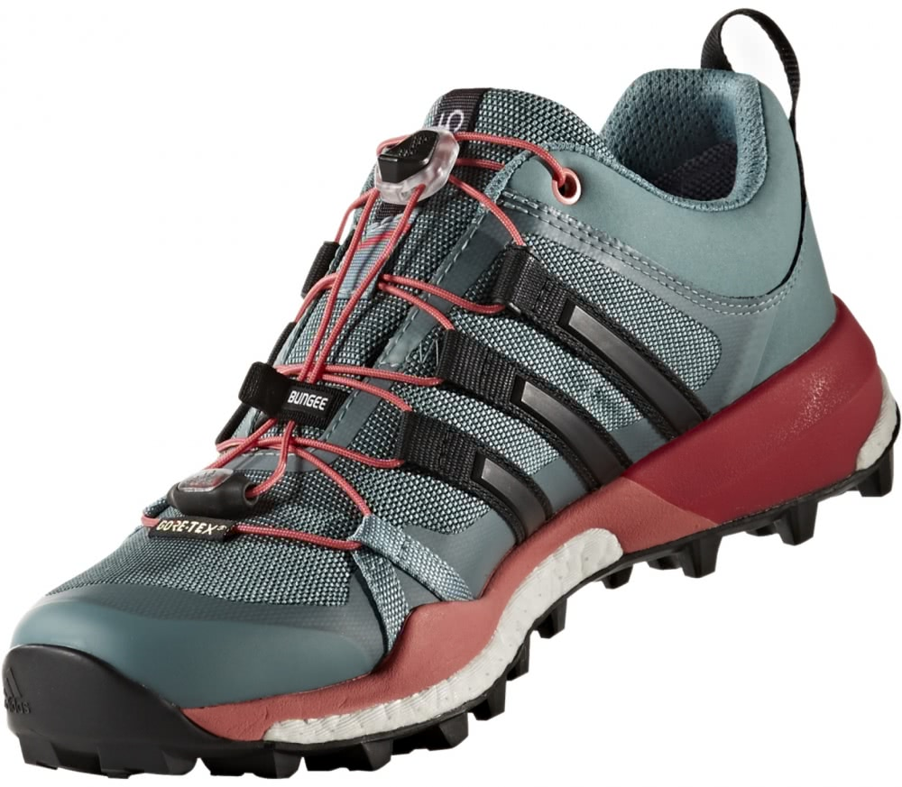adidas terrex skychaser gtx women 39 s mountain running shoes light green black buy it at the. Black Bedroom Furniture Sets. Home Design Ideas