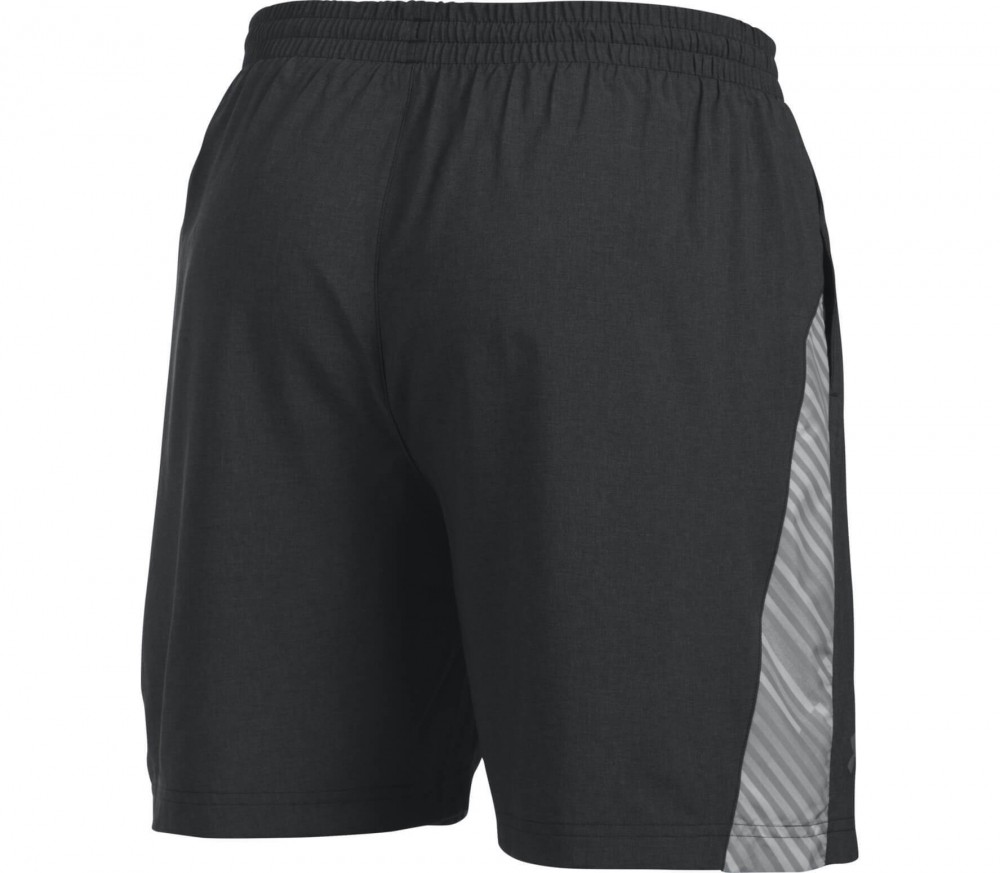 Under Armour - Launch 7'' Woven men's running shorts (black/grey)